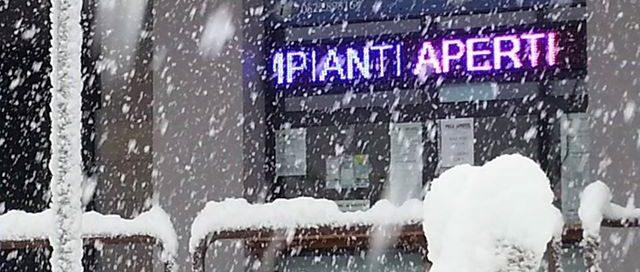 Biglietteria Cerreto Laghi Sotto la Neve!