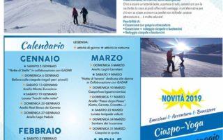 Cerreto Laghi ciaspolate 2019