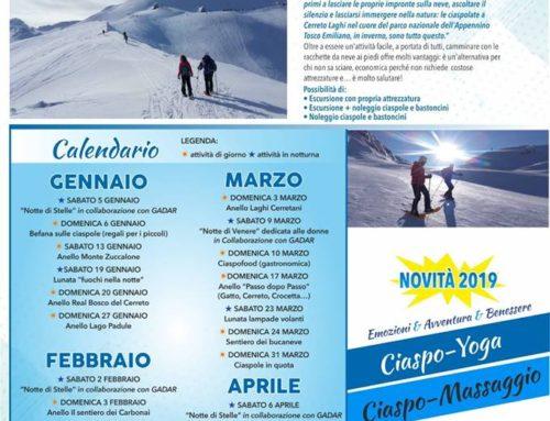 Ciaspolate Cerreto Laghi 2019