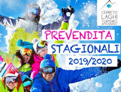 Prevendita Skipass Stagionali Cerreto Laghi 2019-2020