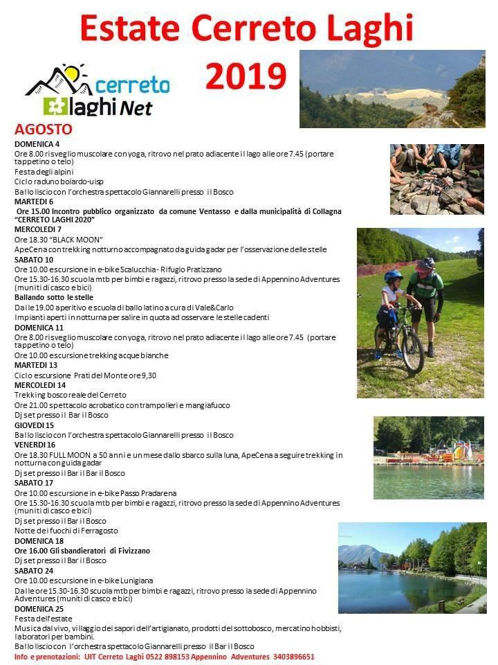 Estate cerreto laghi 2019