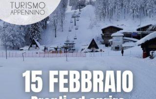 Apertura impianti 15 febbraio